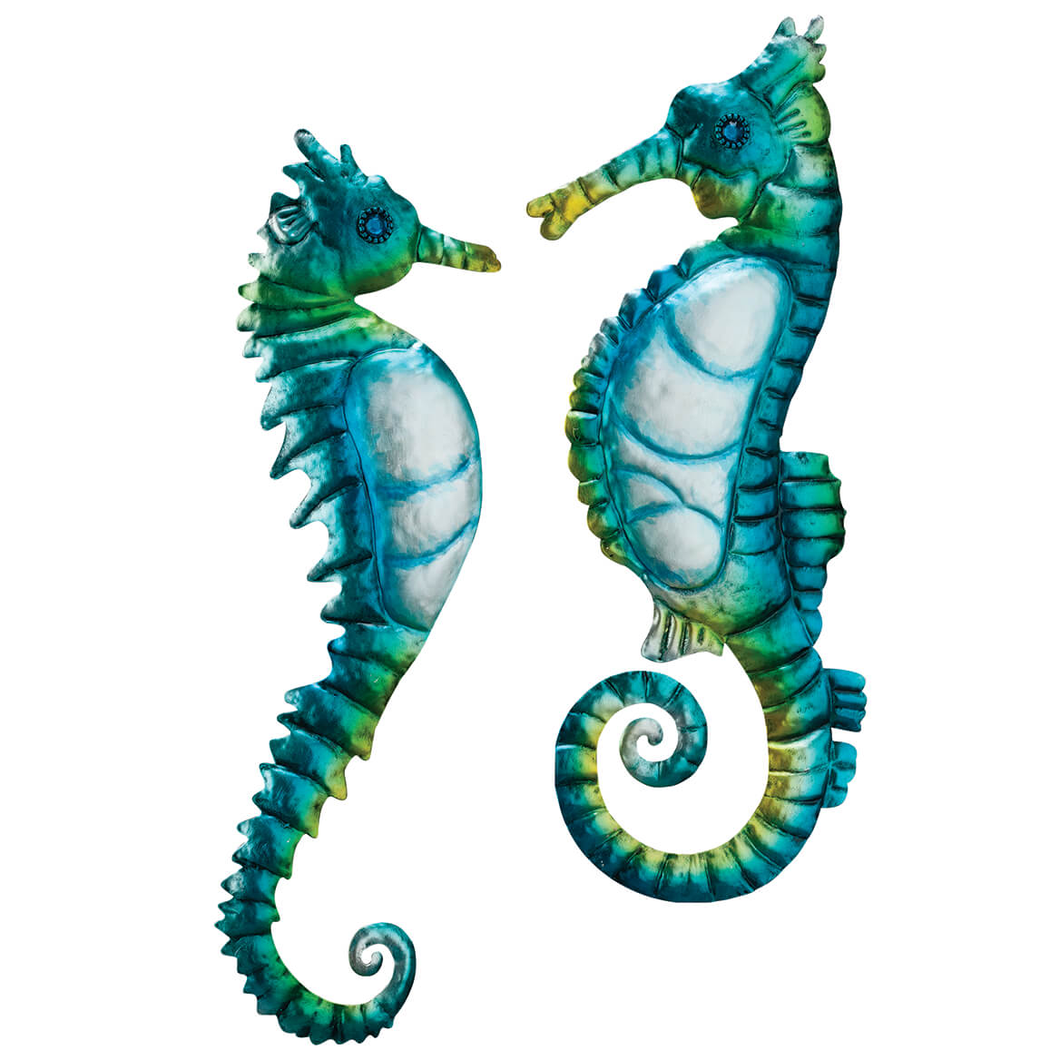 Seahorse Metal Hangings by Fox River™ Creations, Set of 2-371215
