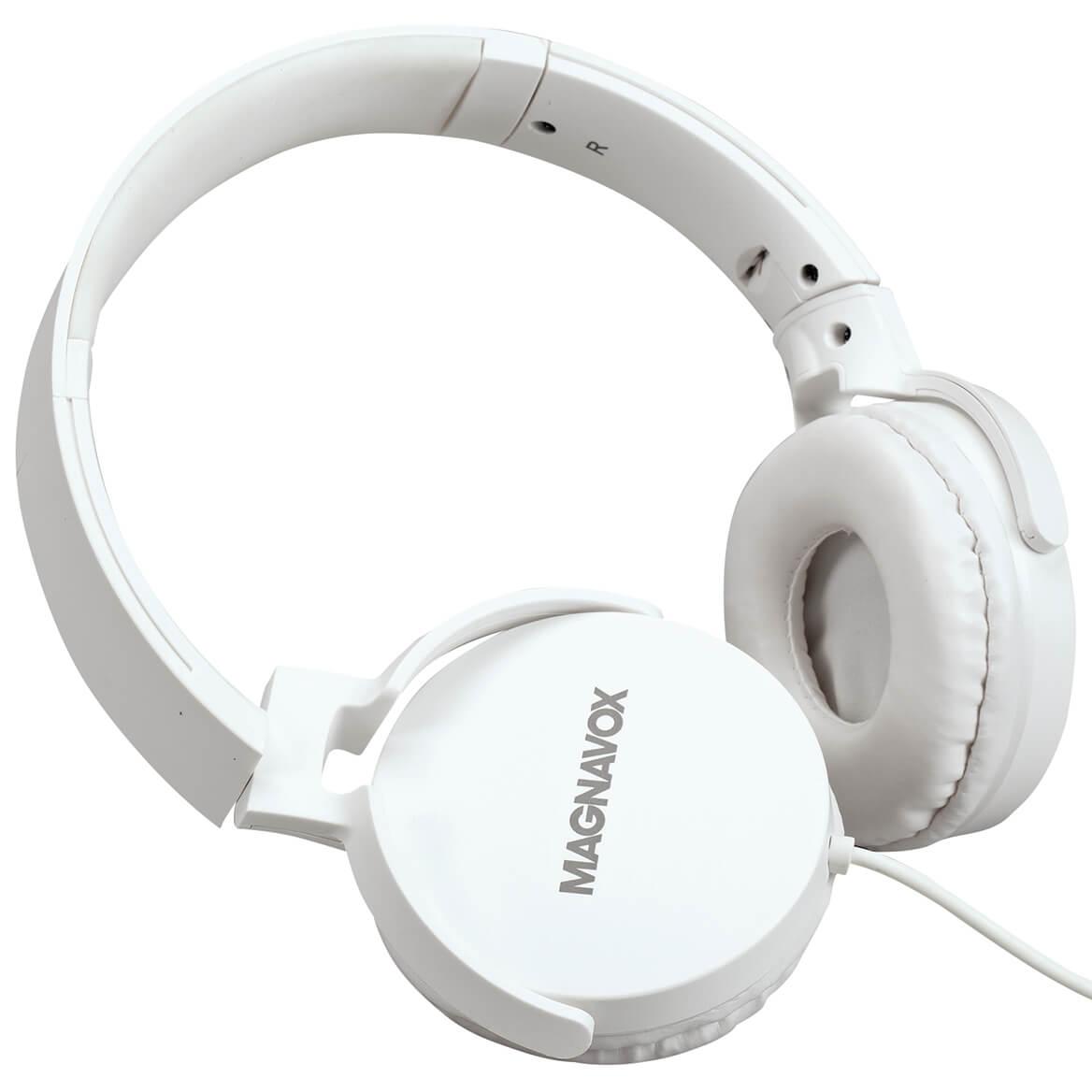 Magnavox™ Foldable Stereo Headphones-371324