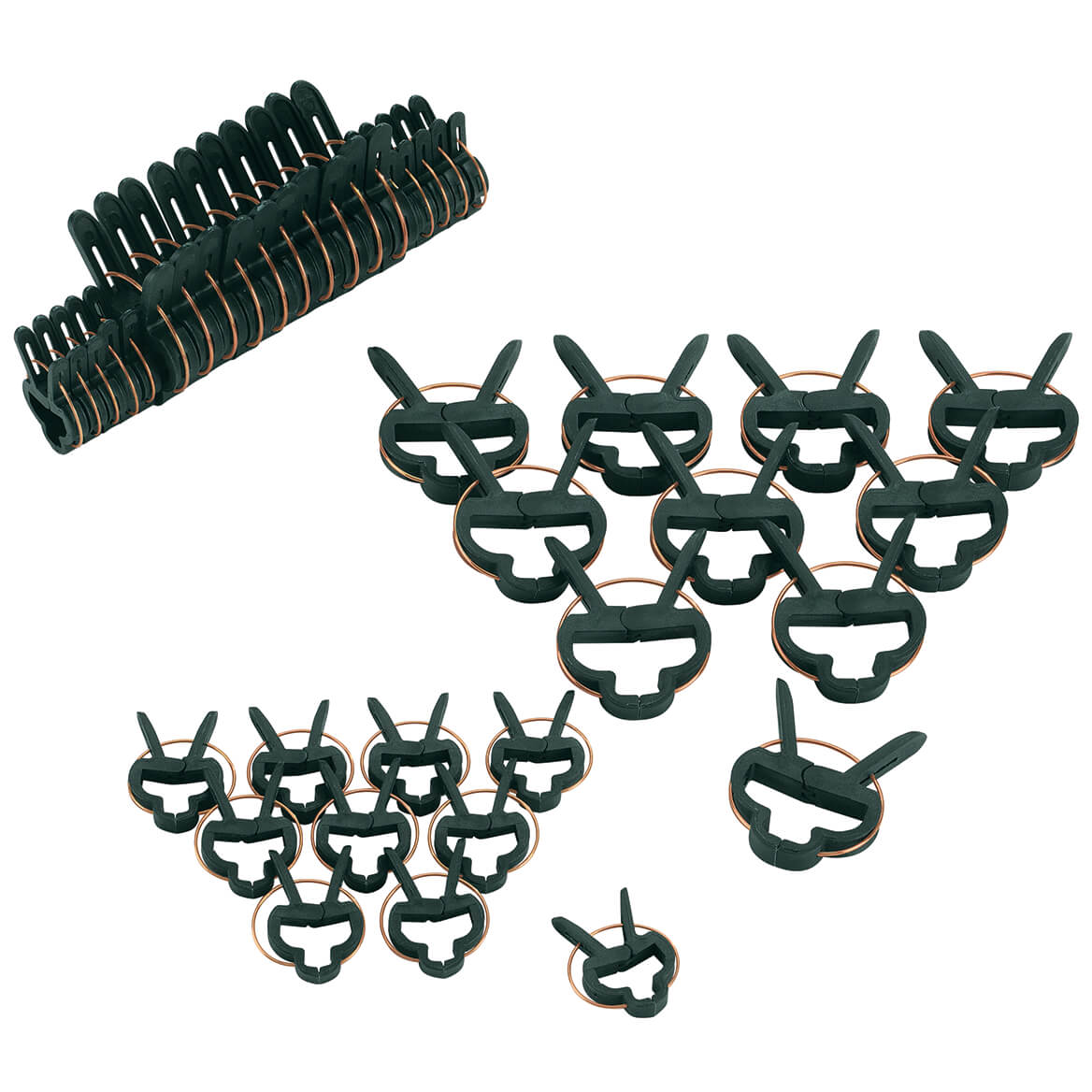 Plant Gripper Clips, Set of 40-371331