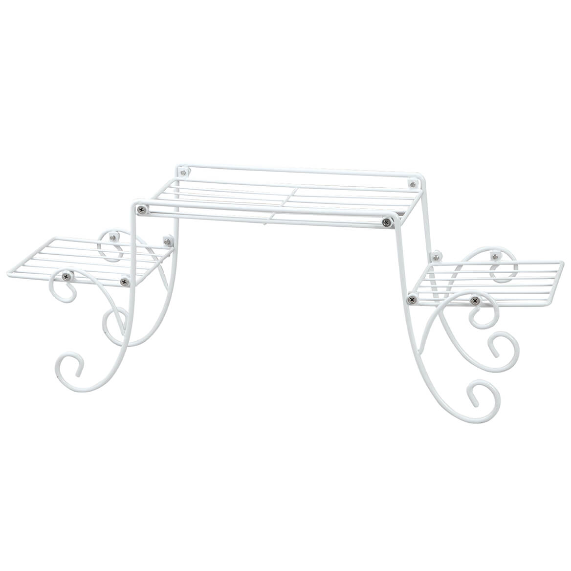 White Wire Over the Sink Spacesaver Shelf-371354