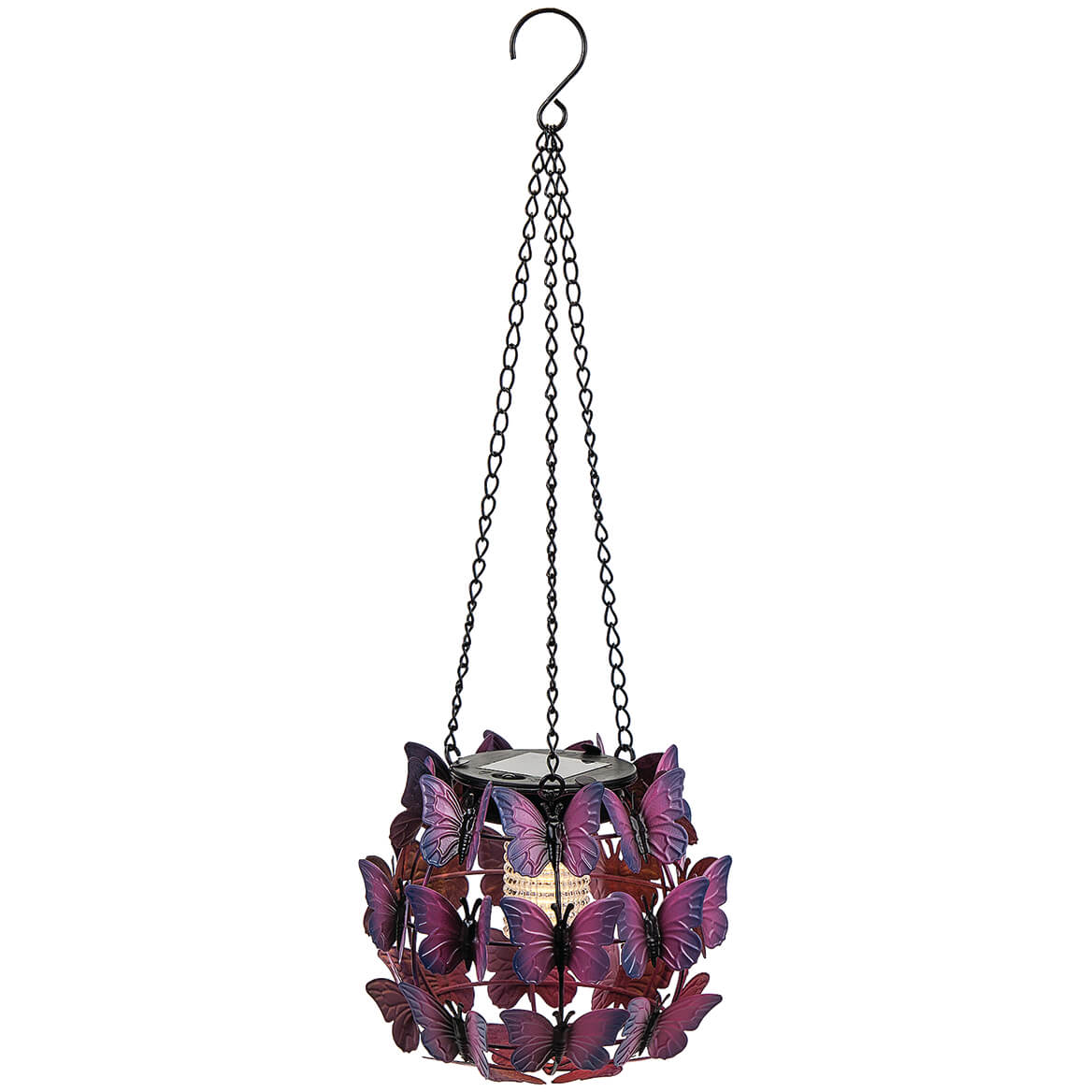 Solar Butterfly Hanging Globe Light-371492