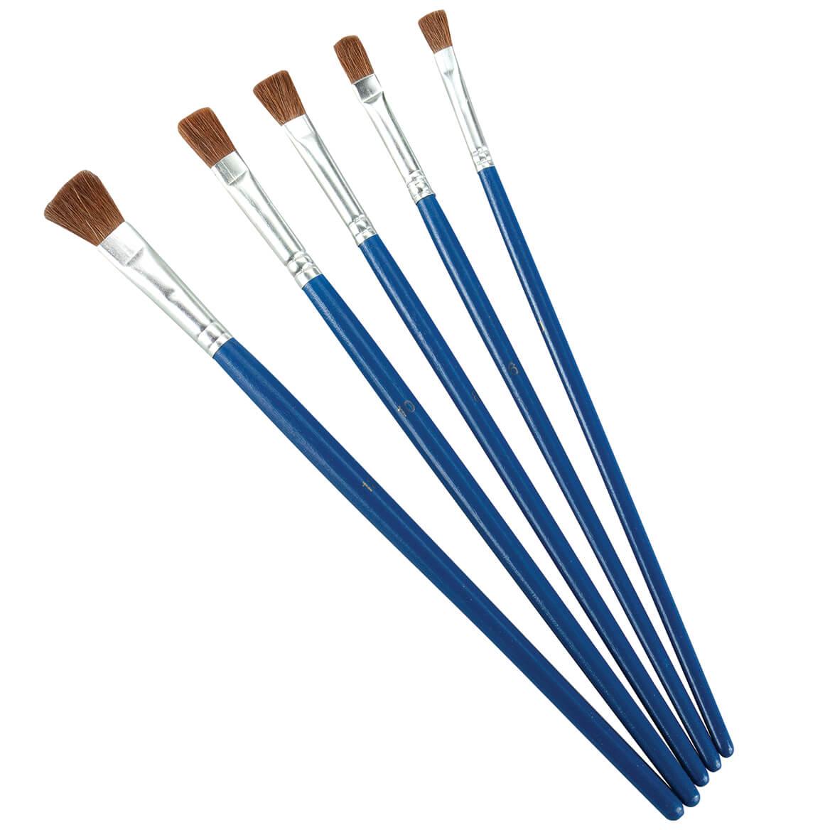 Craft Paint Brushes Set of 5-371533