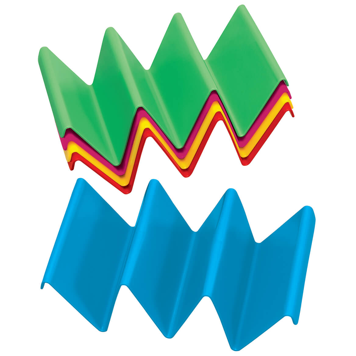 Colorful Taco Holders, Set of 5-371620