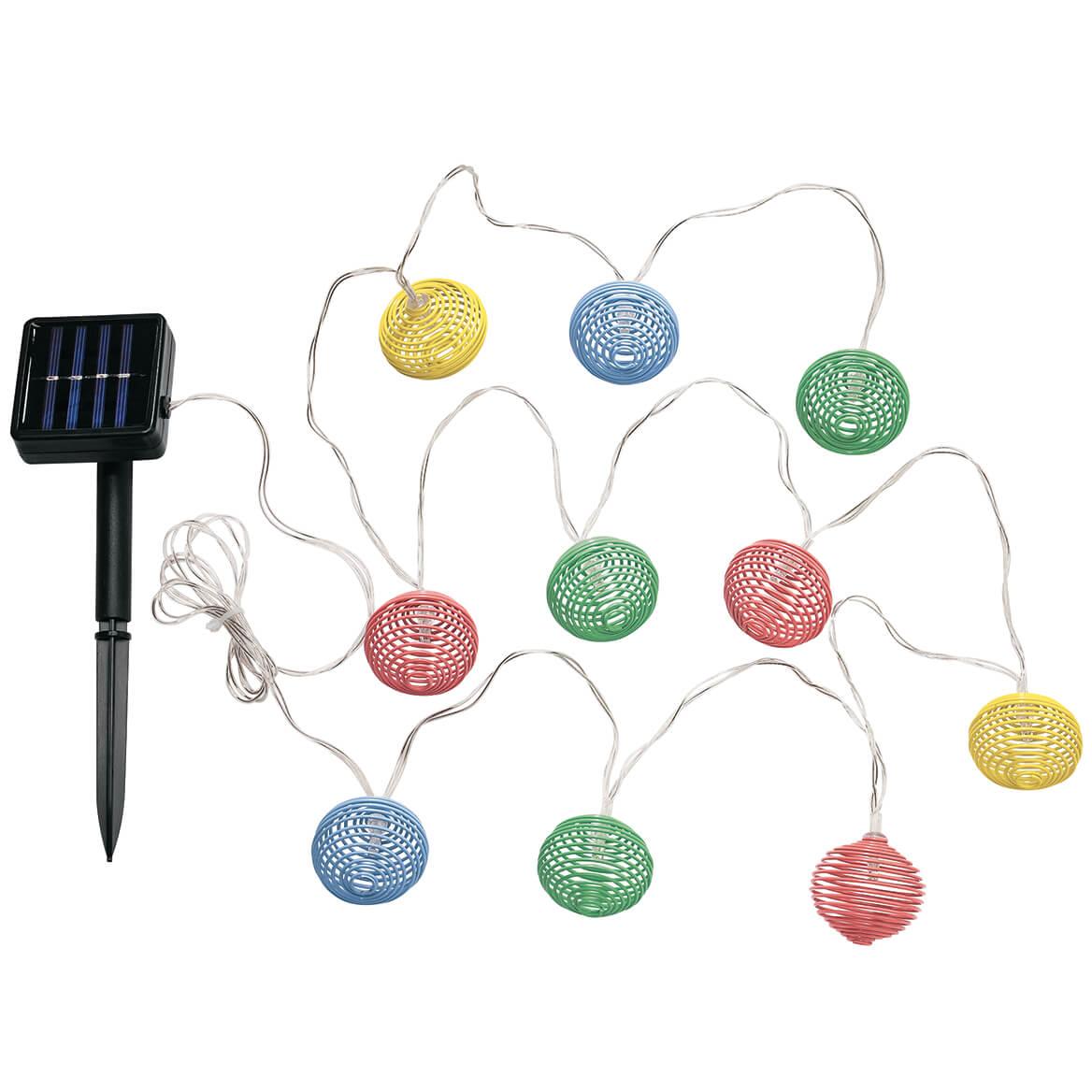 Solar Spiral String Lights-371639