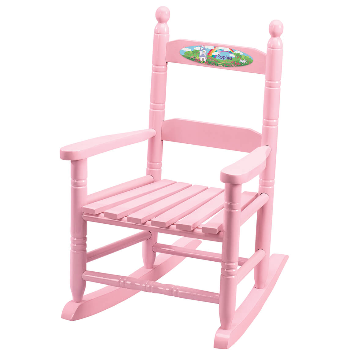 Personalized Princess Children's Rocking Chair-371718