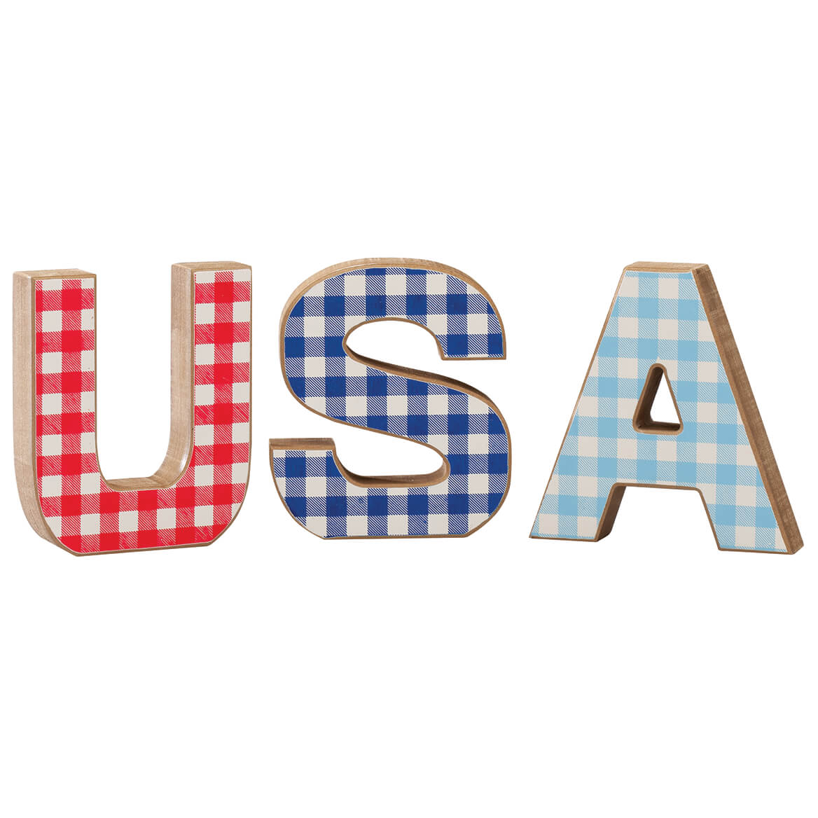 USA Wood Table Top Blocks by Holiday Peak™-371724