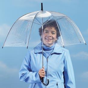"Cheap 50"" Clear Dome/Bubble Umbrellas Wholesale"