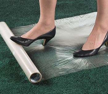 Adhesive Plastic Carpet Runner