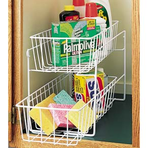 Two-Level Sliding Shelf