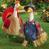 Scarecrow and Turkey Geese Outfits