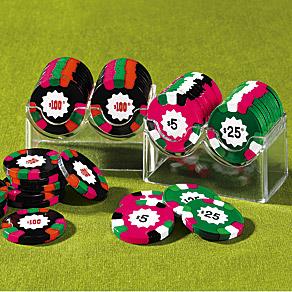 Sound poker chips make