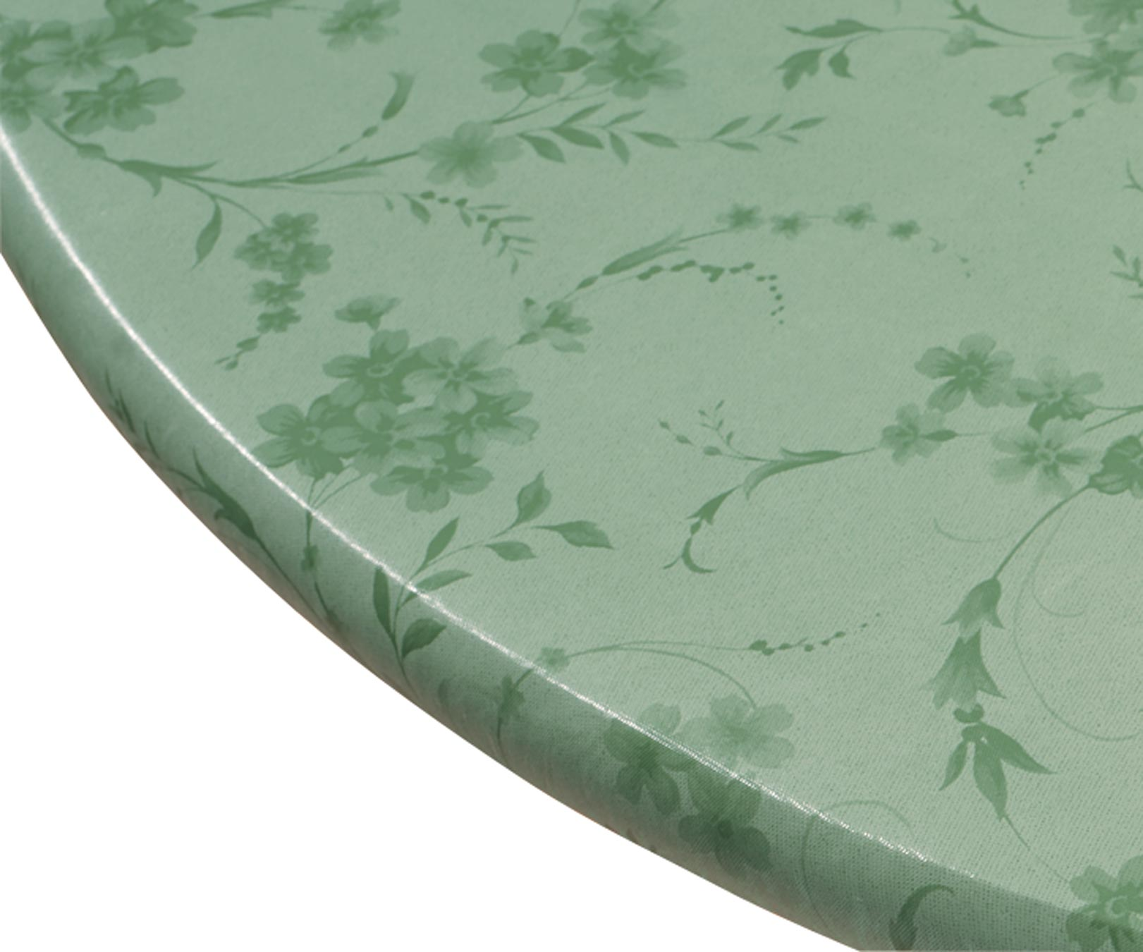 Miles Kimball Miles Kimball Floral Swirl Elasticized Table Cover 42