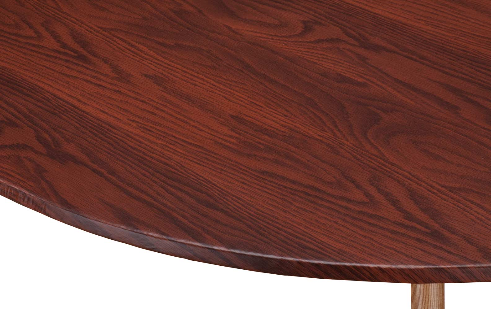 Very Impressive portraiture of Wood Grain Vinyl Elasticized Table Cover Mahogany 40 44 Dia Round  with #673026 color and 1584x998 pixels