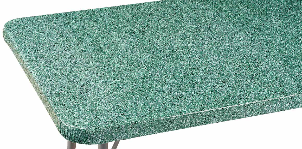Granite Vinyl Elasticized Banquet Table Cover 60 Quot X 30