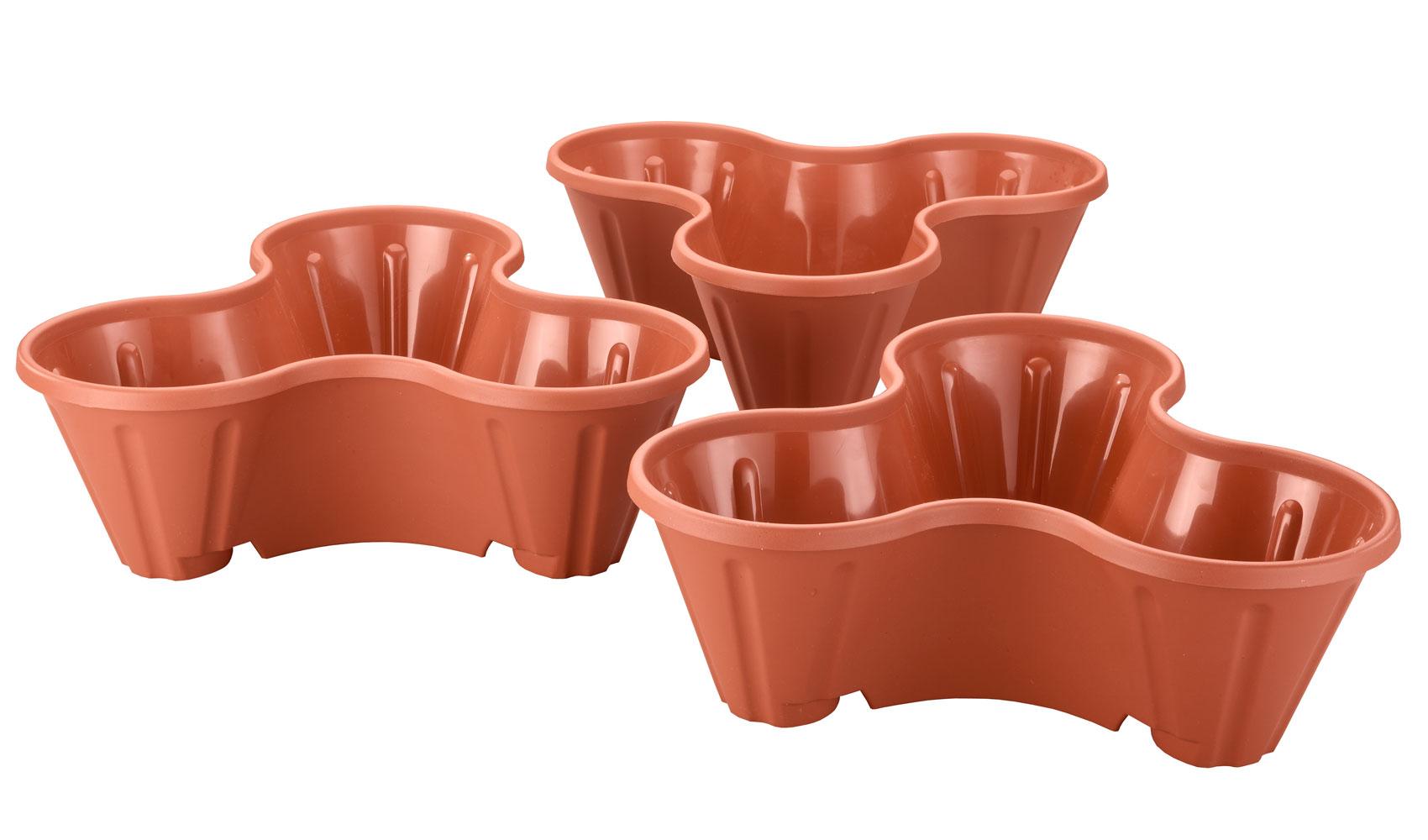 Fox Valley Traders Swivel Basket Hooks Set of 3