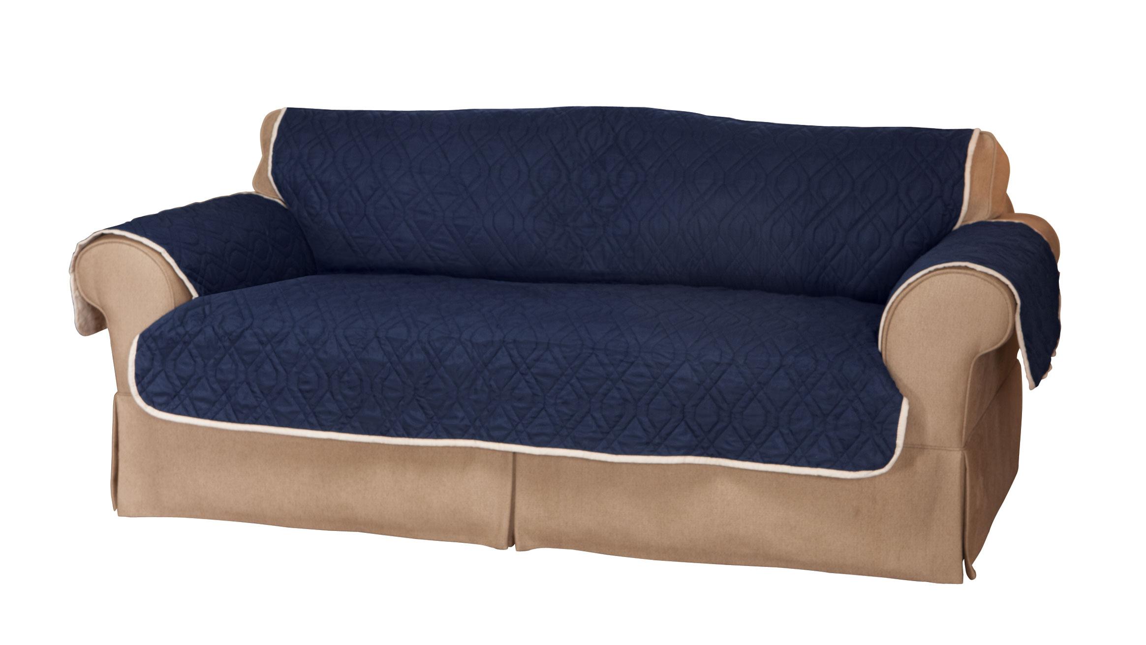 5 star reversible waterproof extra long sofa protector ebay for Reversible waterproof furniture covers