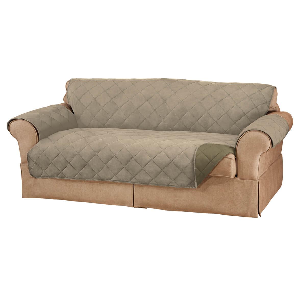 Naomi Suede-Microfiber XL Sofa Cover By OakRidgeTM