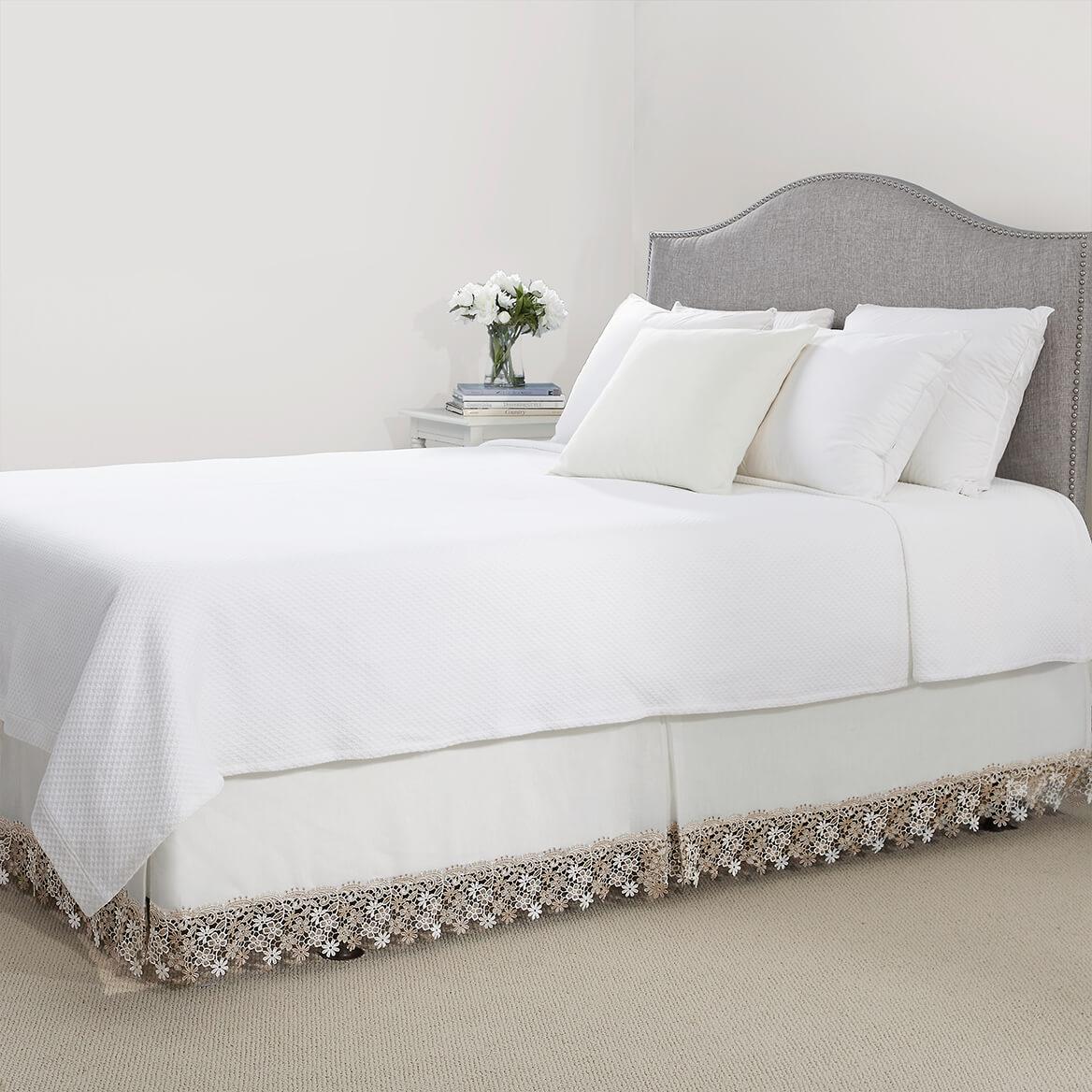 Lillian Macrame Bed Skirt Ebay