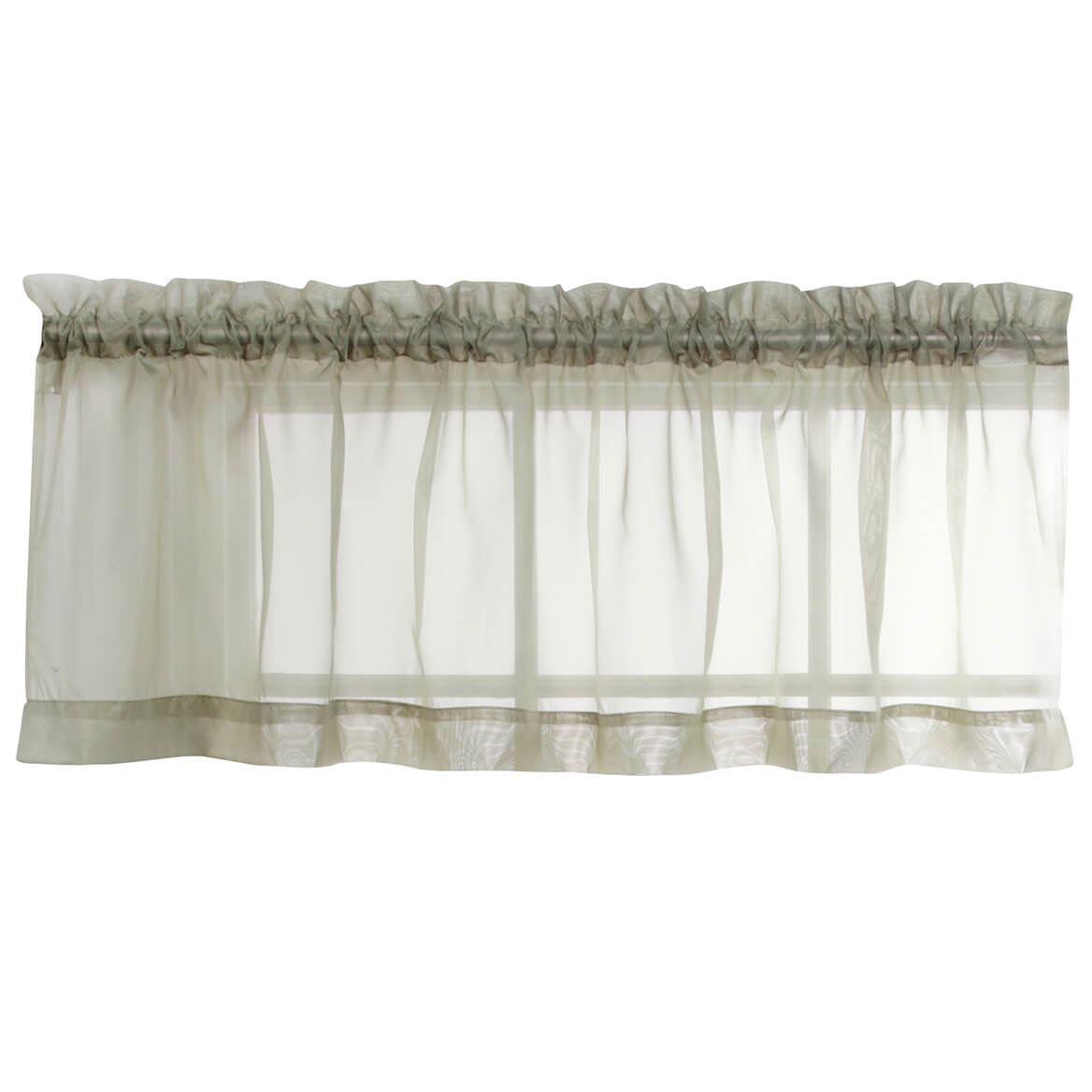 Voile Valance Part - 20: ... Picture 3 of 3