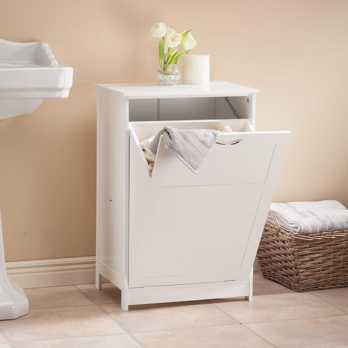 OakRidge Tilt Out Laundry Hamper Bin - Freestanding ...